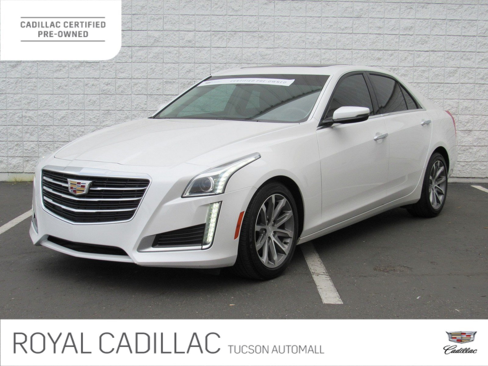 Certified Pre Owned 2016 Cadillac Cts Sedan Luxury Collection Rwd