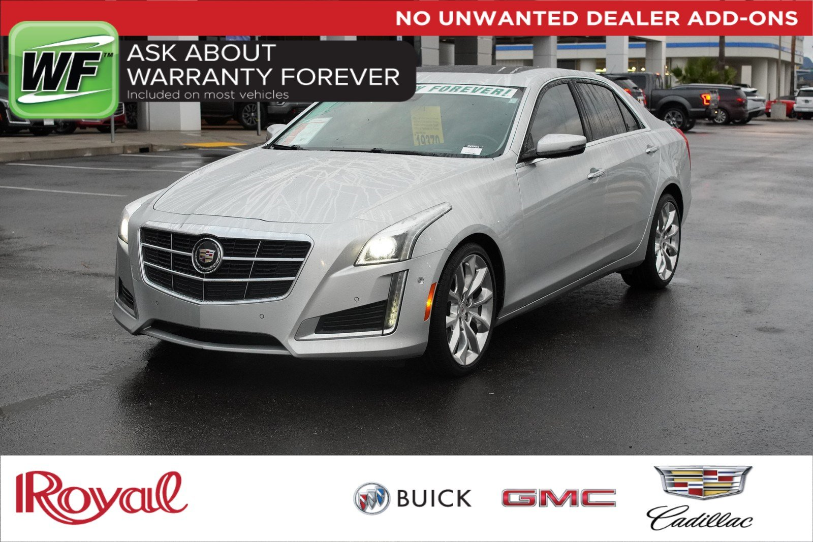 Pre-Owned 2014 Cadillac CTS Sedan Performance AWD