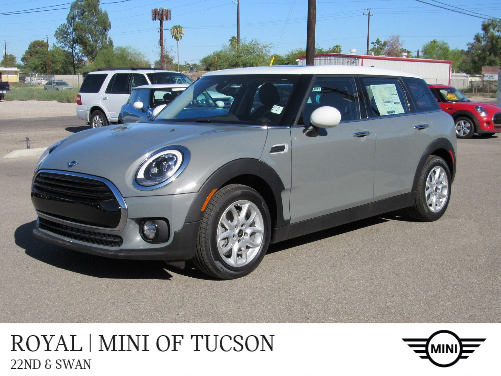 New 2019 Mini Clubman Fwd Signature In Tucson M2068 Mini Of Tucson