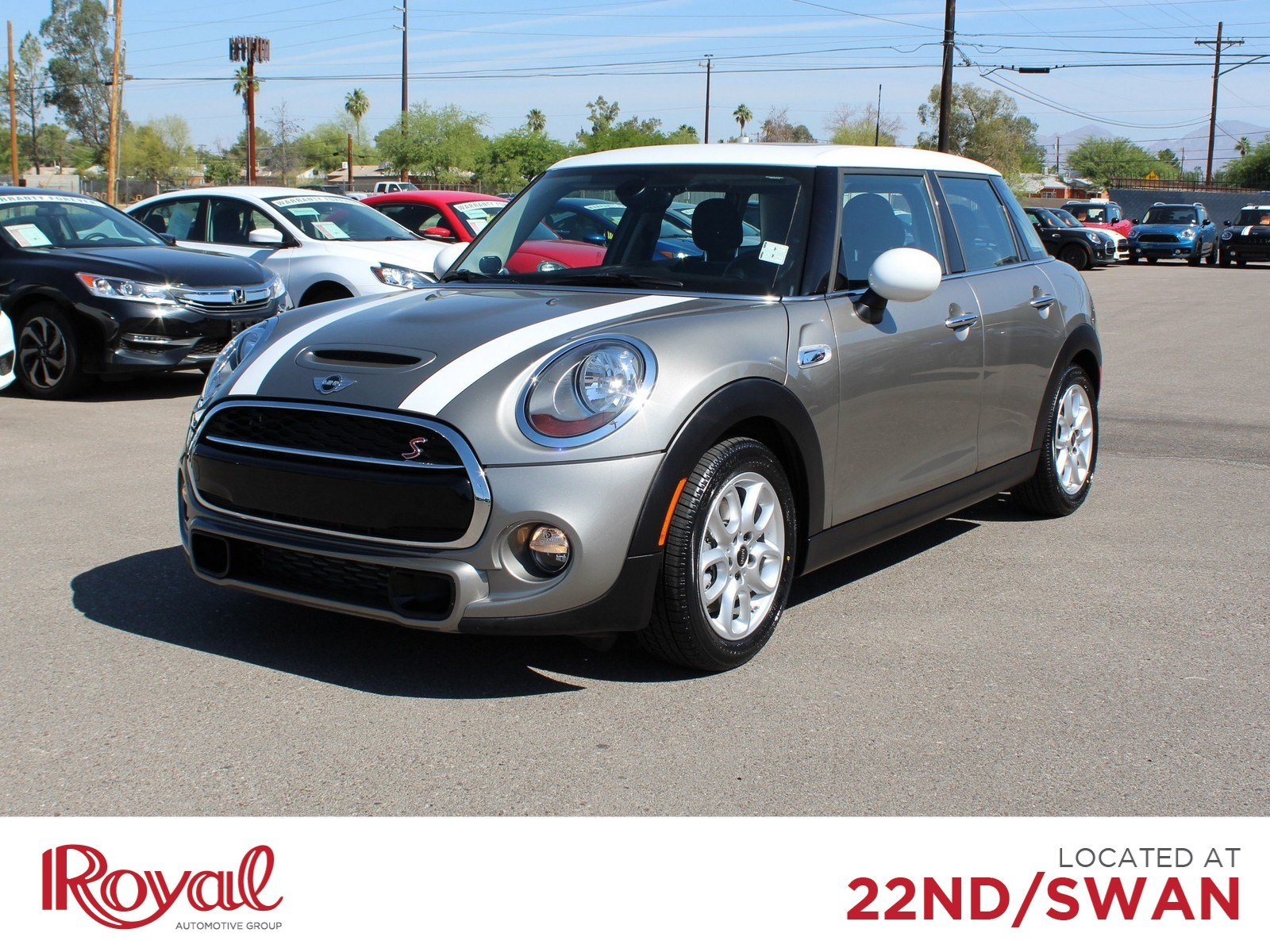 Pre Owned 2016 Mini Cooper Hardtop 4 Door Fwd S In Tucson Po29705