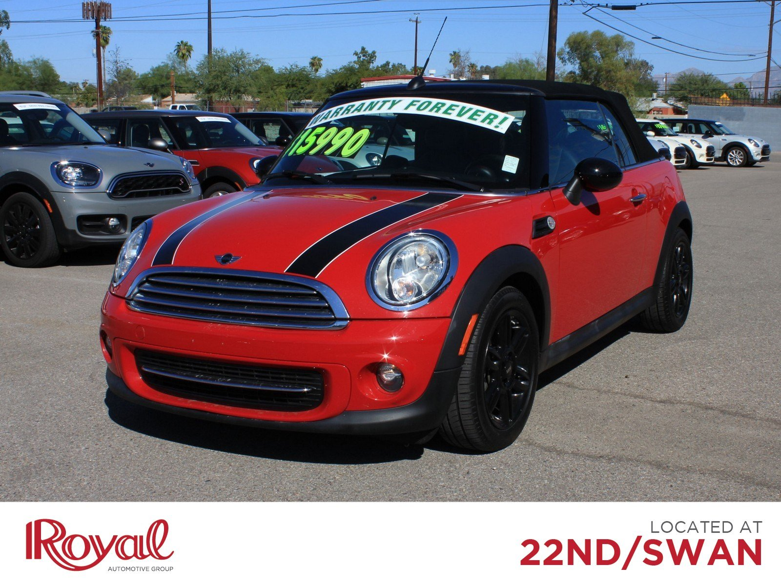 Pre-Owned 2015 MINI Cooper Convertible