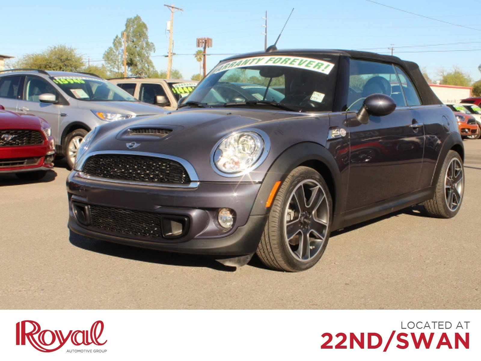 Pre-Owned 2014 MINI Cooper Convertible S