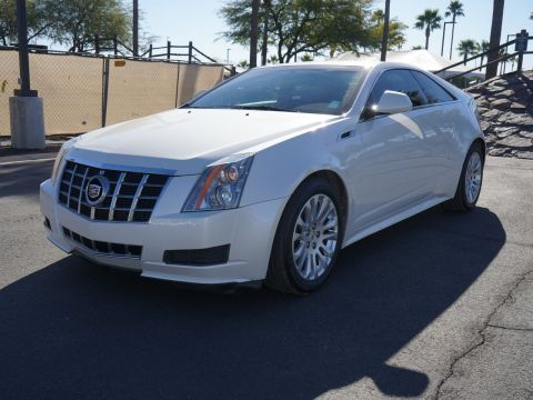Pre-Owned 2012 Cadillac CTS Coupe BASE